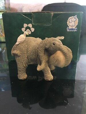 Tuskers Lewis And Egbert Collectable Elephant Figurine Country Artists Ornament