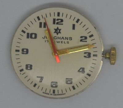 VTG JUNGHANS Movement Dial. Cal: 620.56 (K73). For Parts