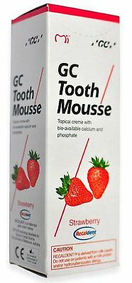 GC Tooth Mousse (Strawberry) 40 gm (Free shipping worldwide)