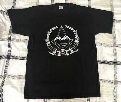 Angels and Airwaves 2011 tour t-shirt + BIG Macbeth sticker Blink182 Tom DeLonge