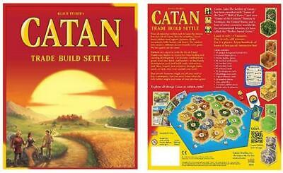 The Settlers Of Catan Board Game - Authentic Licensed 5th Edition Brand New