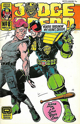 Judge Dredd #8 (Quality Comics)