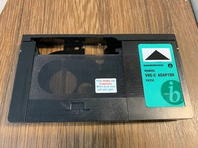 Bandridge Manual VHS-C Adaptor VA250