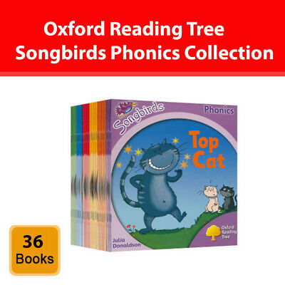 Oxford Reading Tree Songbirds Phonics 36 Book collection Set Level 1-6 pack NEW