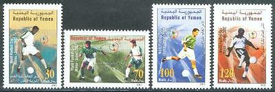 Yemen Republic 2002 ** Mi.240/43 Fußball Football