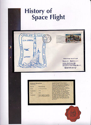 Postwertzeichen/history Of Space Flight - Apollo 15