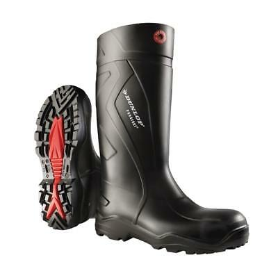 Dunlop Purofort+ Plus Full Safety Boots S5 SRC Wellington Wellies Black RRP £95