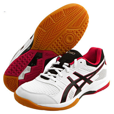 ASICS Gel-Rocket 8 Unisex Badminton Shoes Indoor Shoe White NWT TVR719-0121