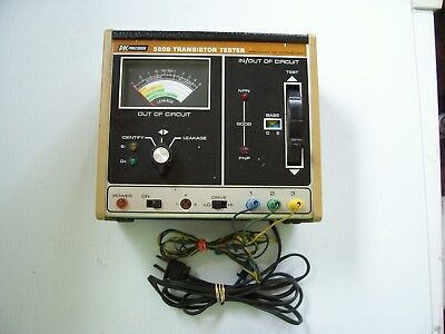 1 used B and K 520B transistor tester tested and working.
