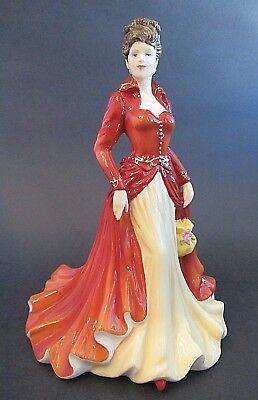 """Royal Doulton """"Loving You"""" HN 5556 Pretty Ladies Figurine Boxed with Certificate"""