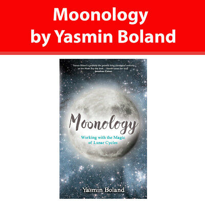Moonology Yasmin Boland book Working with the Magic of Lunar Cycles NEW PB