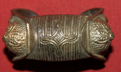 Antique Greek Orthodox Folk Medieval Crusader Brass Fertility Bracelet