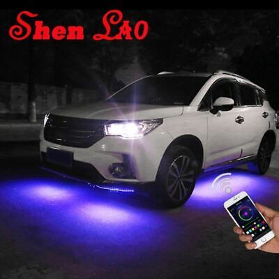 Car RGB LED Strip for car lights Under Car Glow Underbody System Neon Light wate