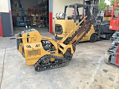 2014 Vermeer Rtx250 Walk Behind Trencher Earth Moving Equipment