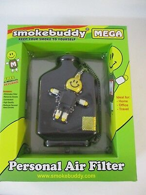 Smoke Buddy Jr Personal Air Purifier Cleaner Filter Removes Odor Black New