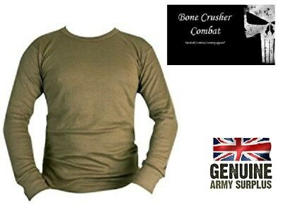 Genuine British Army Cold Weather Thermal  Top / Base Layer –Various Sizes
