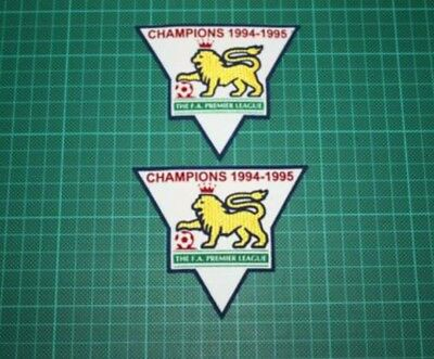 Premier League Gold Champions Patches/Badges 1994-1995 Blackburn Rovers