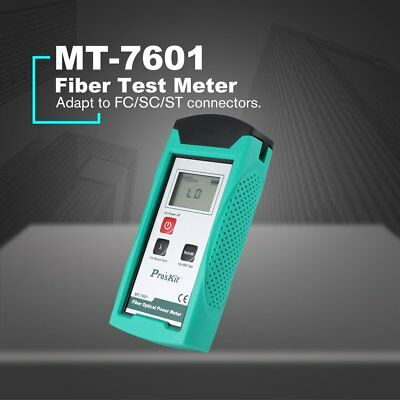 Pros'Kit MT-7601 High-precision Fiber Optic Power Meter Light Decay Tester NS