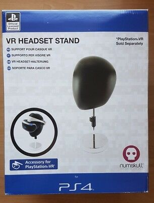 NUMSKULL Official PS4 VR Headset Stand Standfuß Halterung Station Chrome