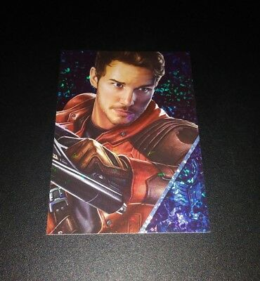 Star-Lord Refractor #149 Card Karte Panini 2017 Marvel Guardians Of The Galaxy