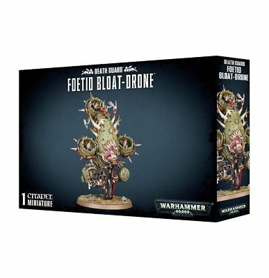 Warhammer 40k - Death Guard Foetid Bloat-drone - Brand New in box! - 43-54