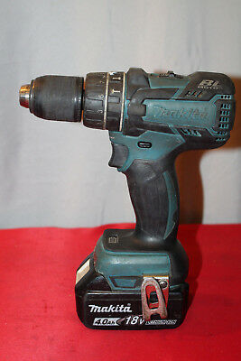 """Makita XPH06Z 18V 1/2"""" LXT Brushless Cordless Hammer Drill with Battery P22"""