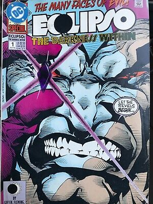 Ecolipso DC Comics The Darkness Within #1 with Gem