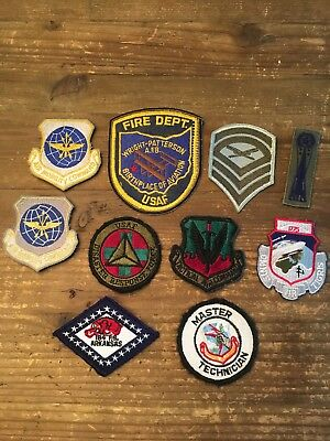 Lot Military Patches-Assortment of 10 military patches