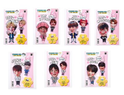 BTS Bangtan Boys Acryl Standing and Key Ring 7 Members KPOP with Free Gifts