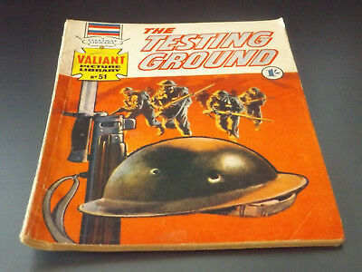 VALIANT PICTURE LIBRARY,NO 51,1965 ISSUE,GOOD FOR AGE,53 yrs old,RARE COMIC.