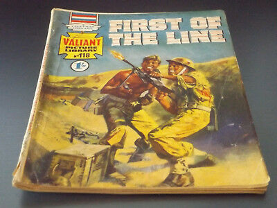 VALIANT PICTURE LIBRARY,NO 118,1968 ISSUE,GOOD FOR AGE,50 yrs old,RARE COMIC.