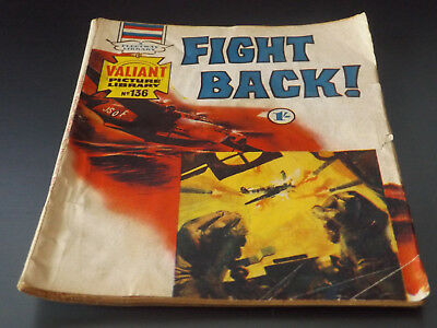 VALIANT PICTURE LIBRARY,NO 136,1969 ISSUE,GOOD FOR AGE,49 yrs old,RARE COMIC.