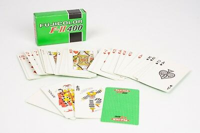 Fujicolor F-II 400promotional Poker cards years 70´s