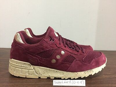 promo code b4708 9c8c4 SAUCONY SHADOW 5000 Gold Rush DS 9-13 Maroon Gold West NYC Ubiq Premier  Feature