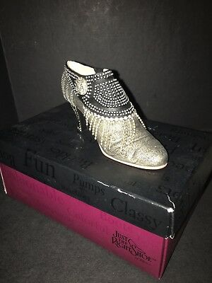 PARISIAN NIGHTS JUST THE RIGHT SHOE BY RAINE #25127 In Original Box 2001