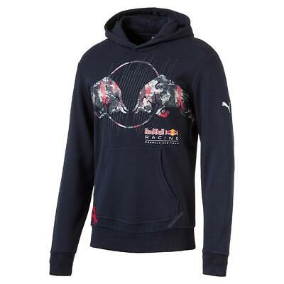 PUMA Red Bull Racing Graphic Hoodie Total Eclipse M