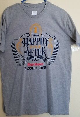 Disney Passholder Happily Ever After T-shirt