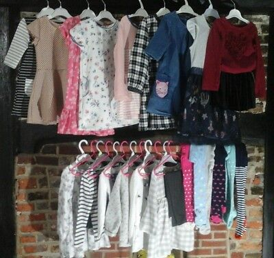 Girls clothes Bundle Size 3-4 Years mix & match outfit full wardrobe,Next & more