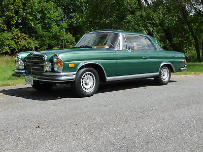1970 Mercedes-Benz 200-Series 280 SE, 27k Orig. Miles, Immaculate Throughout 6-Cylinder, Bosch Mech. Fuel Inj. 2.778 Liter, 4-Speed Auto, Leather Interior