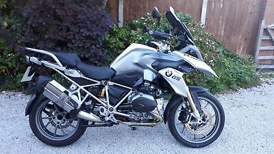 2014 (14) BMW R 1200GS TE, Alpine White