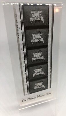 Walt Disney Mickey Mouse Club Vintage 50's Movie Film Strip 5 Cells DONALD DUCK