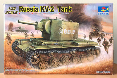 NEW Trumpeter 1/35 Scale Russian WWII KV-2 Tank 00312/TSM312, Ships from USA!