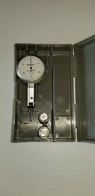 "Mitutoyo No. 513-242 Dial Test Indicator .0005"" W/ Case"