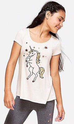 Justice Unicorn Tee /& Leggings Outfit Camo Shimmer NEW 16 Plus $42.80