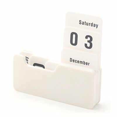Practical Vintage Manual Desk Perpetual Calendar KG