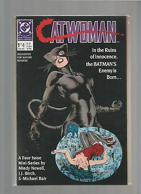 CATWOMAN #1 VF/NM of 4 1989 DC Comics Limited Series MATURE READERS COMBINE SHIP
