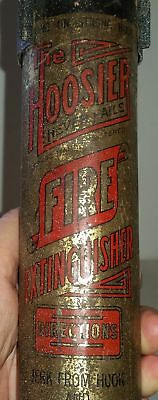 The Hoosier Vintage FIRE EXTINGUISHER WITH WALL MOUNT