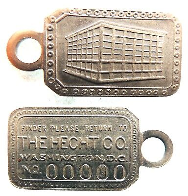 HECHT  CO.,  THE  NEW  Attribution number CHARGE COIN DC-500- HECE