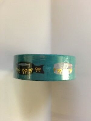 Simply Gilded Teal Washiception #3 15mm Washi Tape