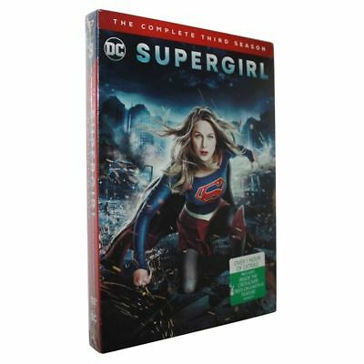 SUPERGIRL: THE COMPLETE THIRD SEASON 3 (DVD, 5-Disc Set)